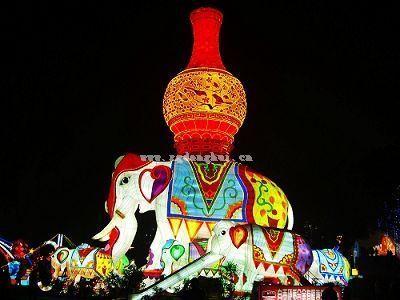 The 15th Zigong International Dinosaur Lantern Festival